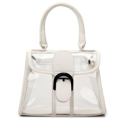 PVC Transparent Women Party Messenger Bag Clear Color Shoulder Bag
