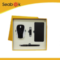 Promotional Nice Gift set with pen /cardholder/mouse/ USB