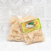 Uncooked seaweed crackers - Spinach flavor (pack of 2)
