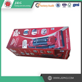 Red Corrugated shipping boxes