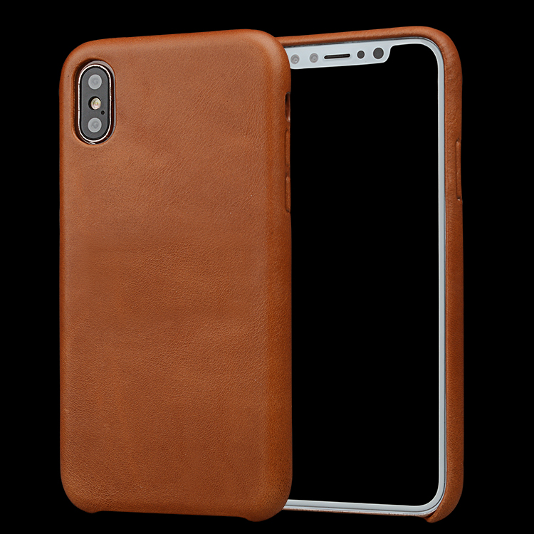 For iphone X Case Real Leather Mobile Phone Case,for iphone X Back Case Leather
