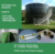 E-coating and Powder-coating Bolted Steel Storage Tank with xpandability and the ability to relocate