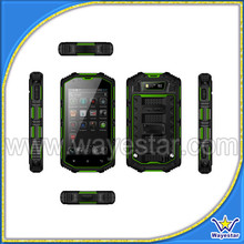 4 inch best rugged mobile phone india Android 5.1 3g wifi gps 2 cameras waterproof IP68