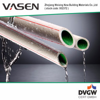 VASEN PPR Excellent Material DVGW Certification types of plastic water pipe