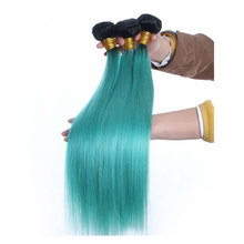 Cheap Beauty Brazilian Straight Ombre Hair Extension
