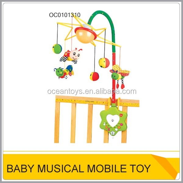 Remote control baby musical mobile Baby cot mobile OC0101310