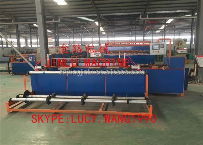full automatic PLC chain link fence machine
