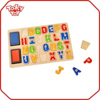 Funny Baby popular wooden cube jigsaw puzzle