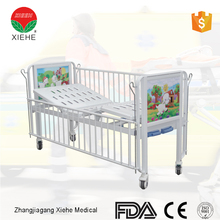 Steel punch bed board portable hospital furniture baby cribs cart cot