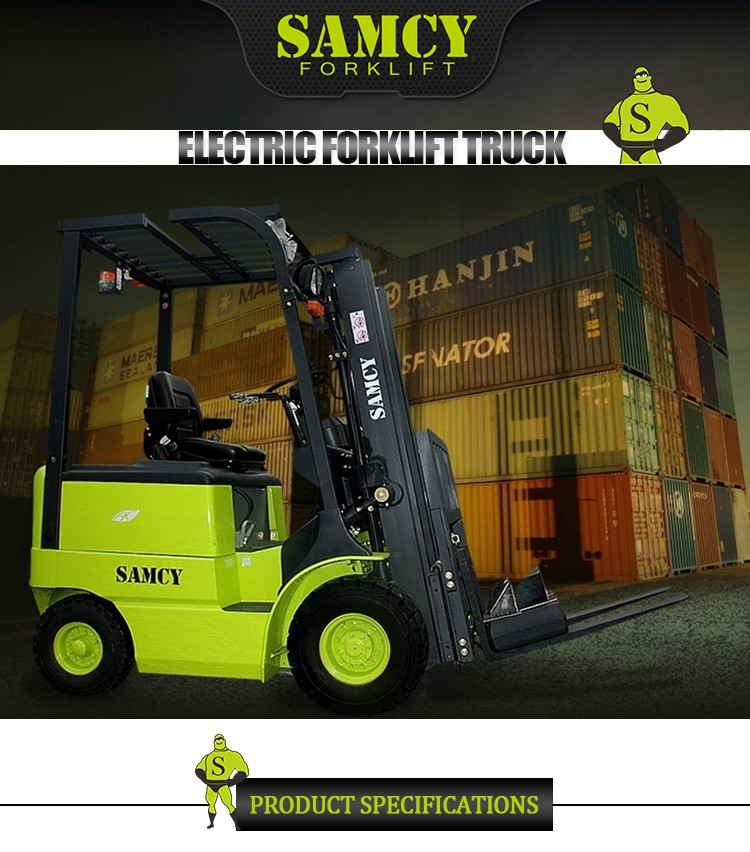 SAMCY Forklift Most Popular 2 Years Warranty Forklift Battery