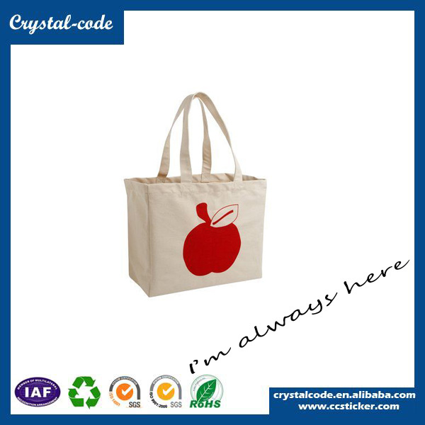 Excellent Quality Popular Blank Canvas Shopping Tote Bag