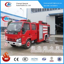 Factort hot sale fire fighting truck with 4000 litres water tanker with cheap price