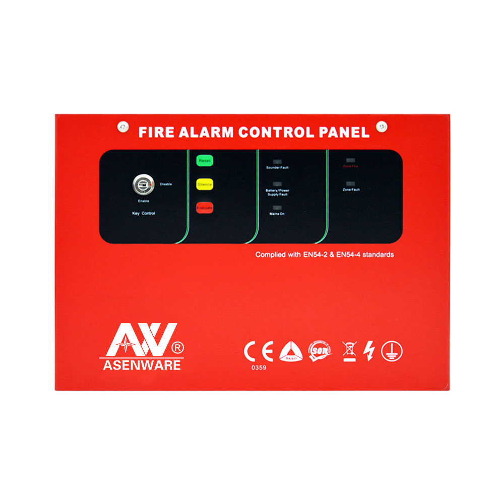 Conventional 2 Wire Bus 1zone OEM/ODM Designed Fire Alarm Control System