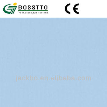 Mildew resistant above ground swimming pool liners