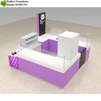 China direct suppler attractive Commercial ice shave kiosk and milk shake kiosk in mall