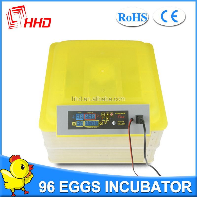HHD YZ-96A Poultry digital commercial incubator and hatcher for sale