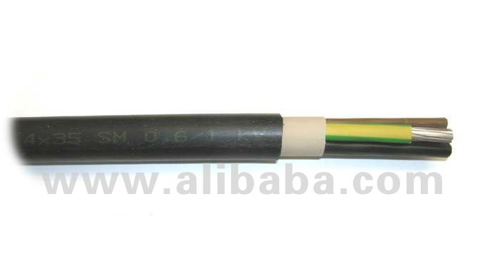 Low Voltage Cable 0,6/1 kV (NAYY)