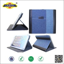In Stock Ultra Thin Universal Stand Tablet Jeans Leather Case