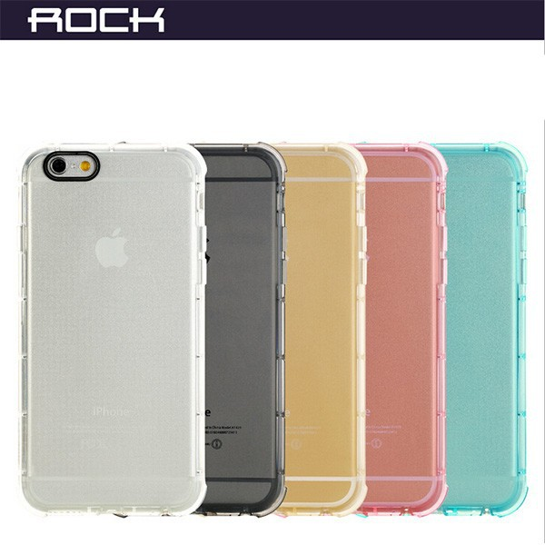 New Arrive For iPhone 6 Rock Brand TPU Soft Shockproof Case