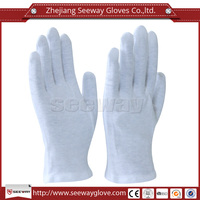 Seeway 100% Soft Lightweight White Coin Jewelry Silver Moisturizing Valuables Cotton Yarn Inspection work Gloves