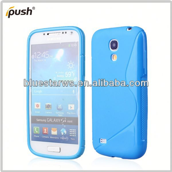 top quality for samsung s4 mini soft tpu case waterproof case