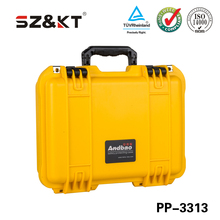 model Tsunami large hard plastic case shockproof flight case with easy open double throw latches and pull handle