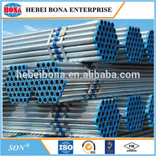 ERW High frequency welded carbon steel pipes /tube with low price