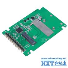 mSATA mini PCI-E SATA SSD to 2.5 inch IDE 44pin Notebook Laptop hard disk case Enclosure