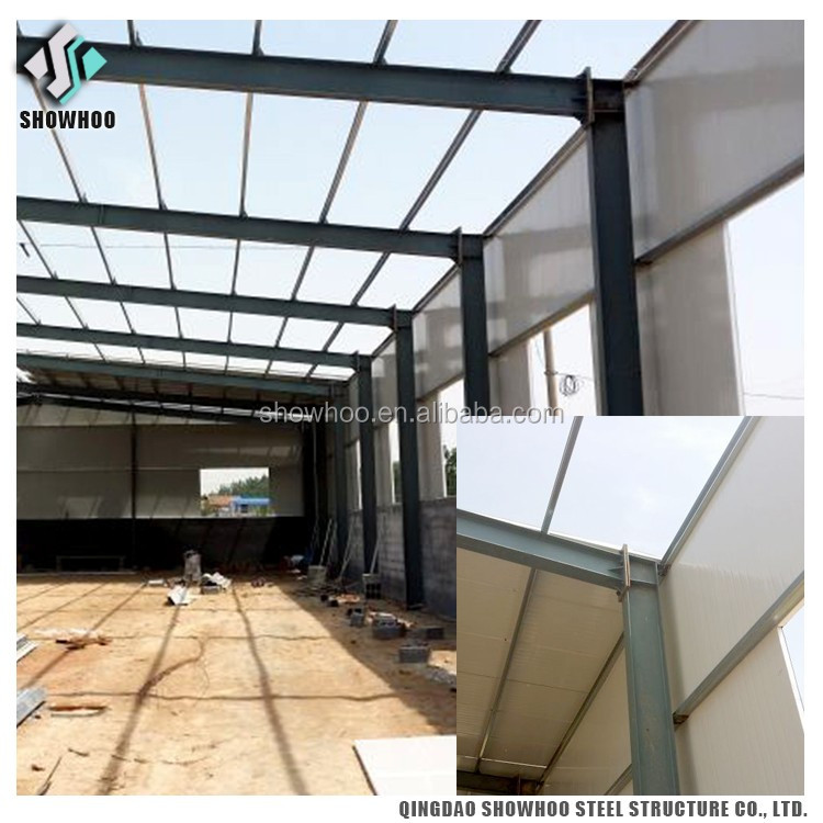 China Manufacture Light Frame Metal Pre-built Steel Building