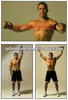 Fitness Chest Expander Exercise Chart - Buy Chest Expander