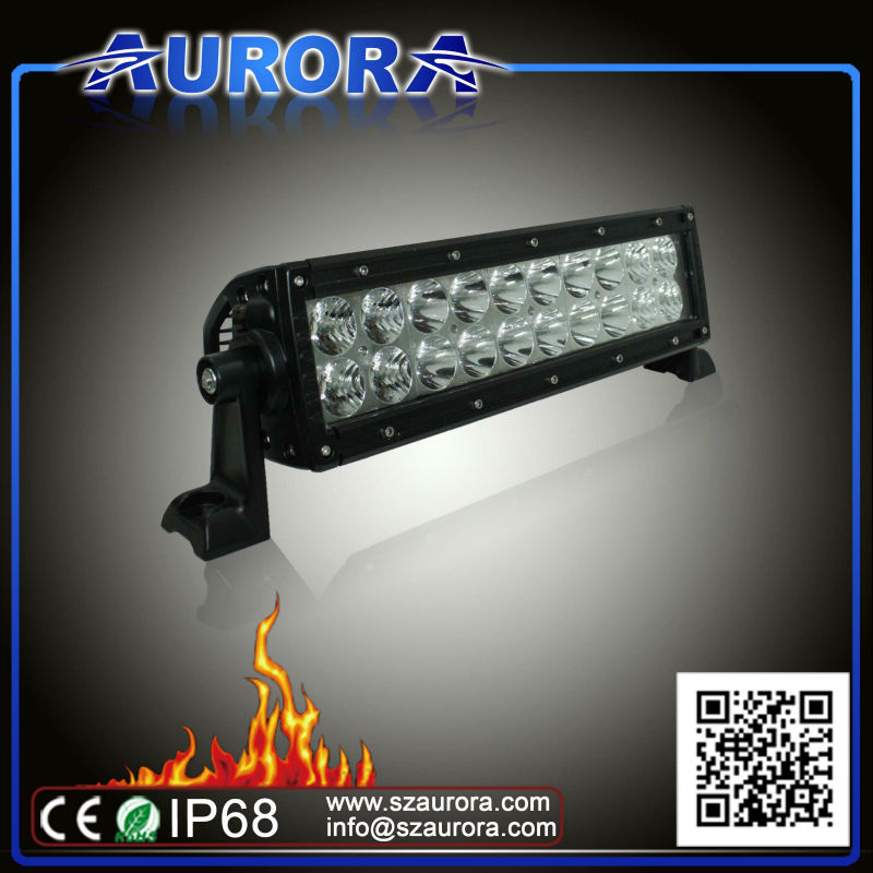 Hotsell high quality AURORA 6inch LED light, parts for atv