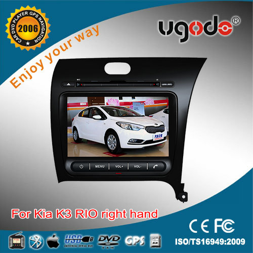 wholesale special electrical motor for KIA RIO right hand car stereo with built in DVD GPS radio bluetooth USB IPOD TV