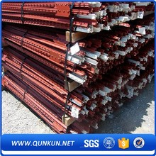 China Supply T Post Bitumen Coated Superior Quality Anti-corrosion Steel Y Posts For Sale