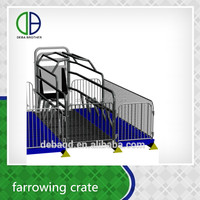 Animal Cage Type Pig Cage Pig Farrowing Crate For Sale