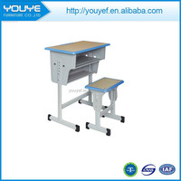 Popular cheap modern school desk and chair