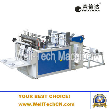 shopper bag making machine