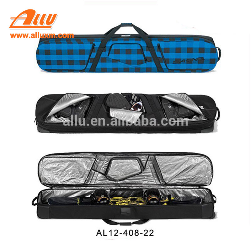 Out door Hot Selling Wholesale Wheeled Snowboard Bag