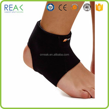 International fabric adjustable black Polyamide velcro ankle straps