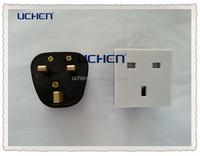 uk electrical socket/British 3 pin outlet/ british socket 250v 13a