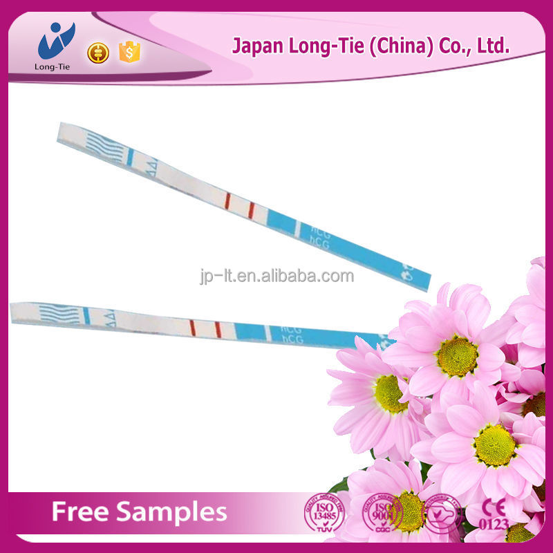 superior hcg one step pregnancy test device including strip, cassette, midstream