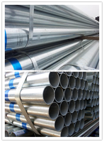 Q235 / Bs1387 round weld galvanized steel pipe 3 1/2 inch steel pipe made in china