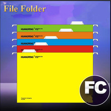 Office A4 FC Paper File Folder