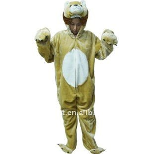 lion animal party costume