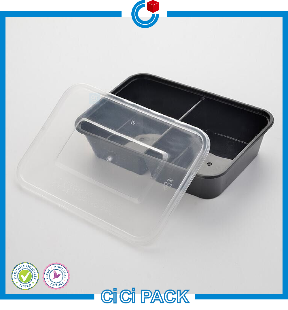 Disposable Plastic Restaurant Food Packaging For Take Away