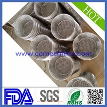 Supply EPDM basket filter screen sieve extruder rubber washer cloth stainless steel filter element