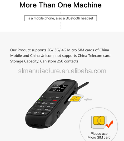 new arrival tiny BM70 cell phone single sim card ultra thin and small size bluetooth mini mobile phone