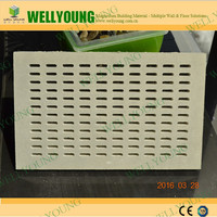 Acoustic Perforated Gypsum Ceiling / Plasterboard Profiles