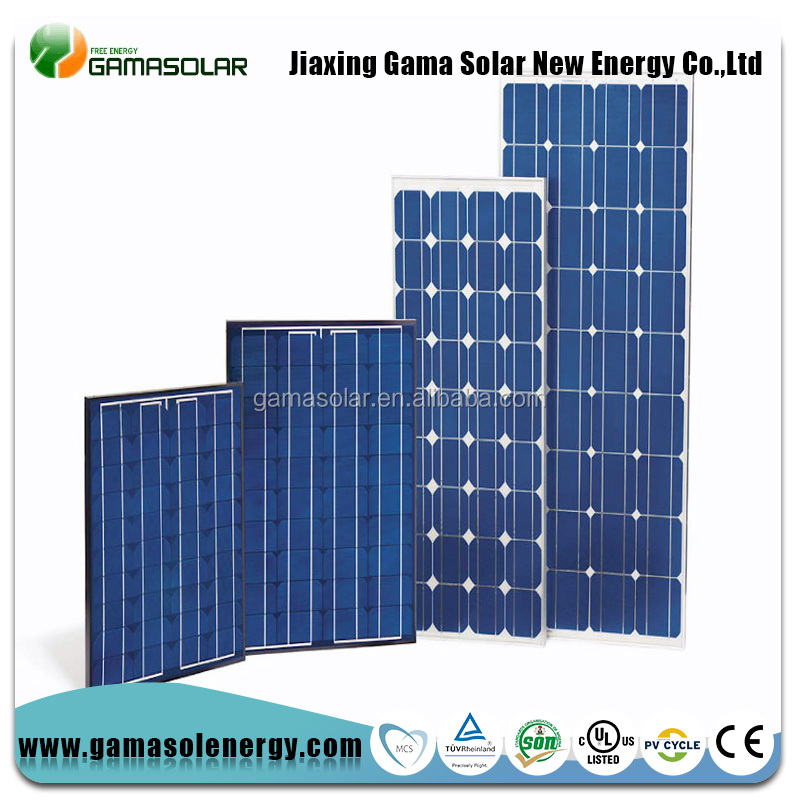 A Grade poly 170w 48 cells solar panels high efficiency thin film with CE TUV certified