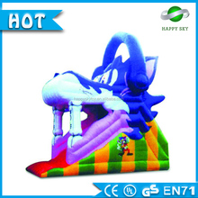 Attractive large inflatable water slide,inflatable slip and slides, inflatable water park slide amusement