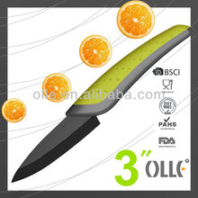 Ceramic Kitchen Knife Fast Back Series 3'' Fruit Knife
